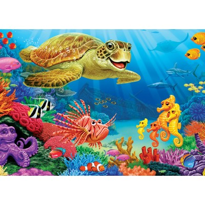 Puzzle Cobble-Hill-58866 Undersea Turtle