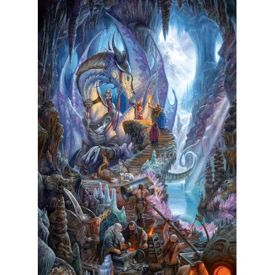 Puzzle Cobble-Hill-80104 Dragon Forge