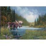 Puzzle  Cobble-Hill-80133 Moose Lake