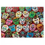 Puzzle  Cobble-Hill-80144 Sugar Skull Cookies