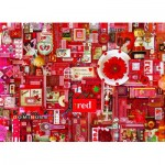 Puzzle  Cobble-Hill-80146 Red