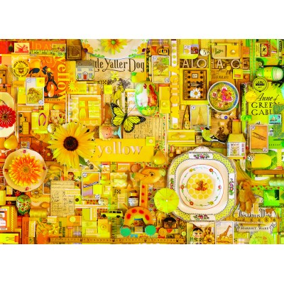 Puzzle Cobble-Hill-80148 Yellow