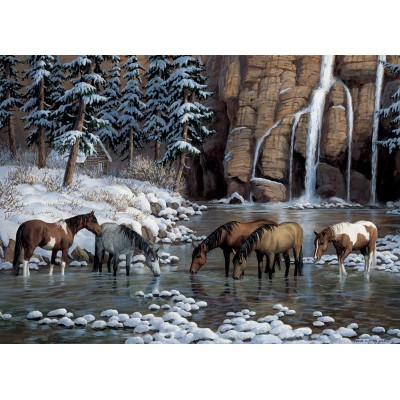Puzzle Cobble-Hill-80162 Spirit of the Rockies