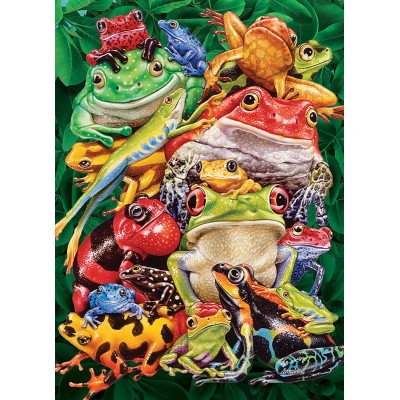 Puzzle Cobble-Hill-80218 Frog Business