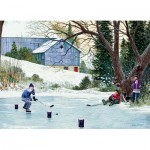 Puzzle  Cobble-Hill-85003 XXL Teile - Hockey Drills