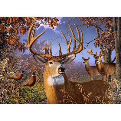 Puzzle Cobble-Hill-85054 XXL Teile - Deer and Pheasant