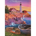 Puzzle  Cobble-Hill-88008 XXL Teile - Lighthouse Cove