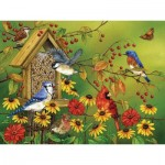 Puzzle  Cobble-Hill-88023 XXL Teile - Fall Feast