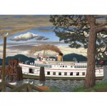 Puzzle   EJ Hughes - The Car Ferry at Sidney BC