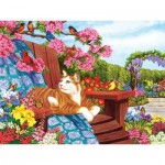 Puzzle   XXL Teile - Nancy Wernersbach - Spring Fling