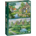 2 Puzzles - Riverside Cottages
