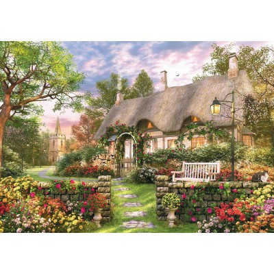 Puzzle Jumbo-11075 Dominic Davison - The Whitesmith's Cottage