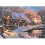 Puzzle  Jumbo-11133 Dominic Davison - The Poet's Cottage