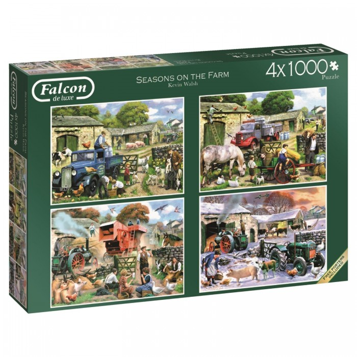 4 Puzzles - Kevin Walsh - Seasons on the Farm