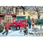Puzzle  Jumbo-11184 Vic McLindon - December Shopping