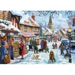 Puzzle  Jumbo-11191 Steve Crisp - Seasonal Cheer