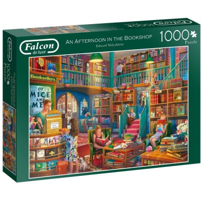 Puzzle Jumbo-11267 An Afternoon in The Bookshop