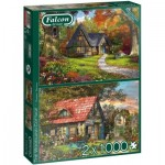 Puzzle   Woodland Cottages