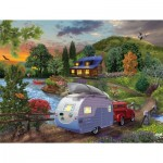 Puzzle   Bigelow Illustrations - Campers Coming Home