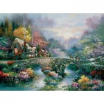 Puzzle   James Lee - Peaceful Cottage