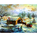Puzzle   Nicky Boehme - Over the Covered Bridge