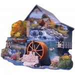 Puzzle   Russell Cobane - The Old Mill Stream