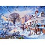 Puzzle   Steve Crisp - A Village in Winter