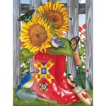 Puzzle  Sunsout-12574 XXL Teile - Summer Galoshes