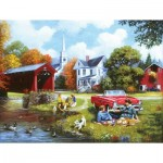 Puzzle  Sunsout-13690 XXL Teile - Lazy Days