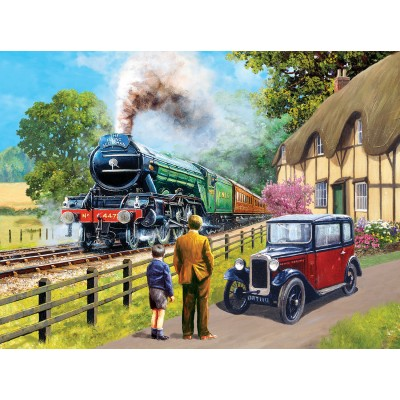 Puzzle Sunsout-13713 Kevin Walsh - The Flying Scotsman