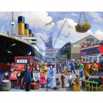 Puzzle  Sunsout-13830 Keith Walsh - The Titanic