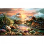Puzzle  Sunsout-18002 XXL Teile - James Lee - Sunset Splendor