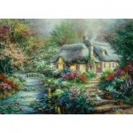 Puzzle  Sunsout-19152 XXL Teile - Nicky Boehme - Little River Cottage