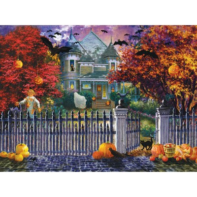 Puzzle Sunsout-19227 Nicky Boehme - Halloween House