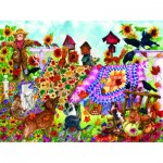 Puzzle  Sunsout-20225 Wendy Edelson - Autumn Garden Quilts