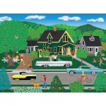 Puzzle  Sunsout-22636 Mark Frost - Nellie's New Car