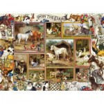 Puzzle  Sunsout-27256 XXL Teile - Barbara Behr - On the Farm