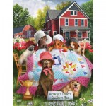 Puzzle  Sunsout-28557 XXL Teile - Smile Ladies