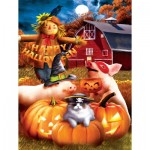 Puzzle  Sunsout-28810 XXL Teile - Happy Halloween