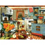 Puzzle  Sunsout-28830 XXL Teile - Grandma's Country Kitchen
