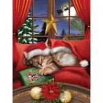 Puzzle  Sunsout-28836 XXL Teile - To All a Merry Christmas