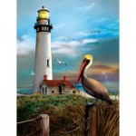 Puzzle  Sunsout-28847 XXL Teile - Pigeon Point Lighthouse