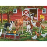 Puzzle  Sunsout-30410 XXL Teile - Welcome the New Pony