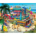 Puzzle  Sunsout-31556 XXL Teile - Shaggy's Surf Shop
