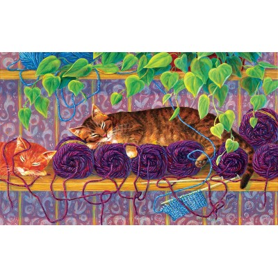 Puzzle Sunsout-31621 XXL Teile - Our Work is Done Here