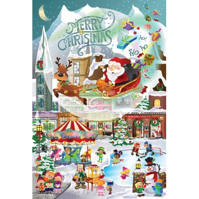 Puzzle Sunsout-32210 XXL Teile - Legacy Tree - A Christmas Village for All Ages
