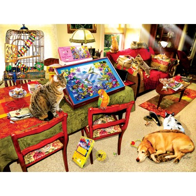Puzzle Sunsout-35030 Lori Schory - The Missing Piece