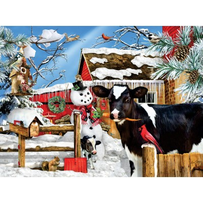 Puzzle Sunsout-35090 XXL Teile - Lori Schory - The Carrot Thief