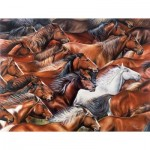 Puzzle  Sunsout-35310 XXL Teile - Horse of a Different Color