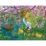 Puzzle  Sunsout-35883 XXL Teile - Tricia Reilly-Matthews - A Mother's Love